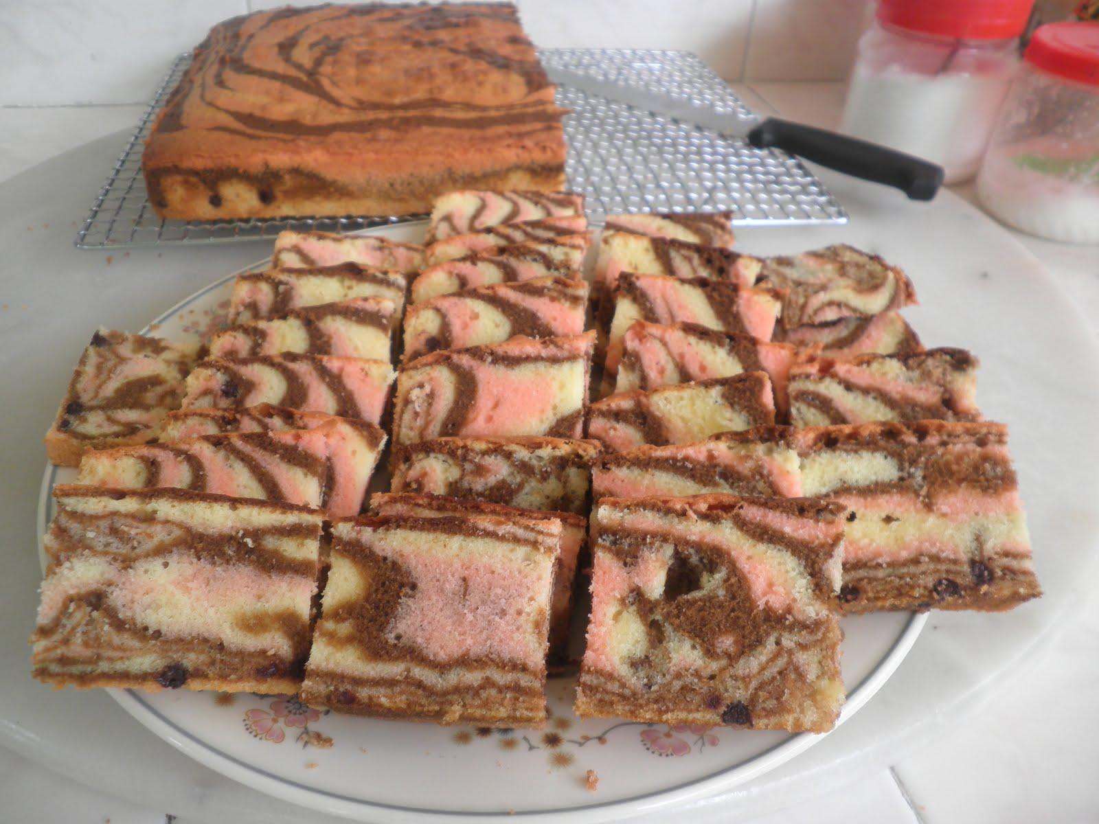 Christine S Kitchen Tri Color Marble Cake