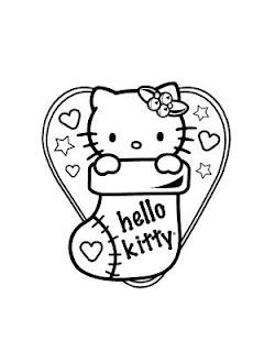 la calza della befana? no di hello kitty