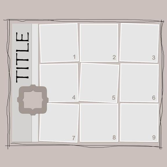 Webajeb Two Free Digital Scrapbooking Templates