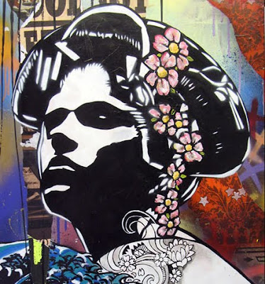 Copyright Stencil Work