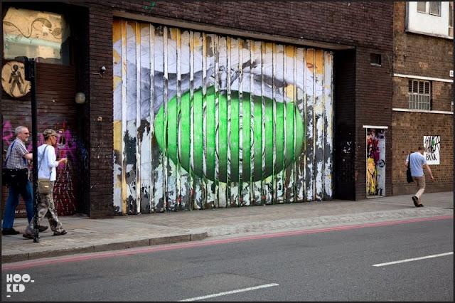 London Street Art Walking Tours with Hookedblog