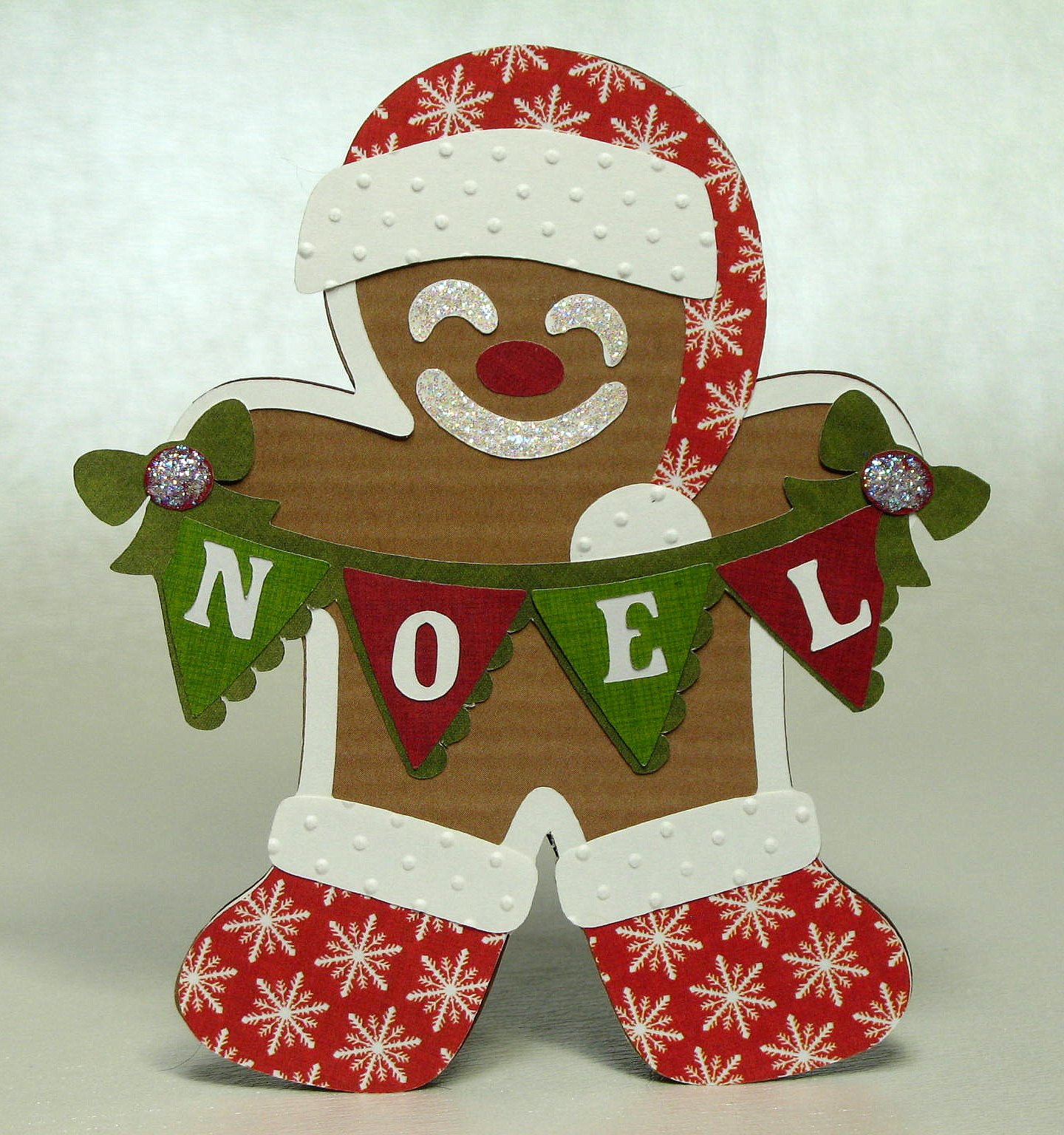 Paper Gingerbread Man Decorating Ideas   Elitflat The Paper Boutique Gingerbread Man Card