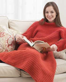 Kniterarian Annie Knit Your Own Snuggie