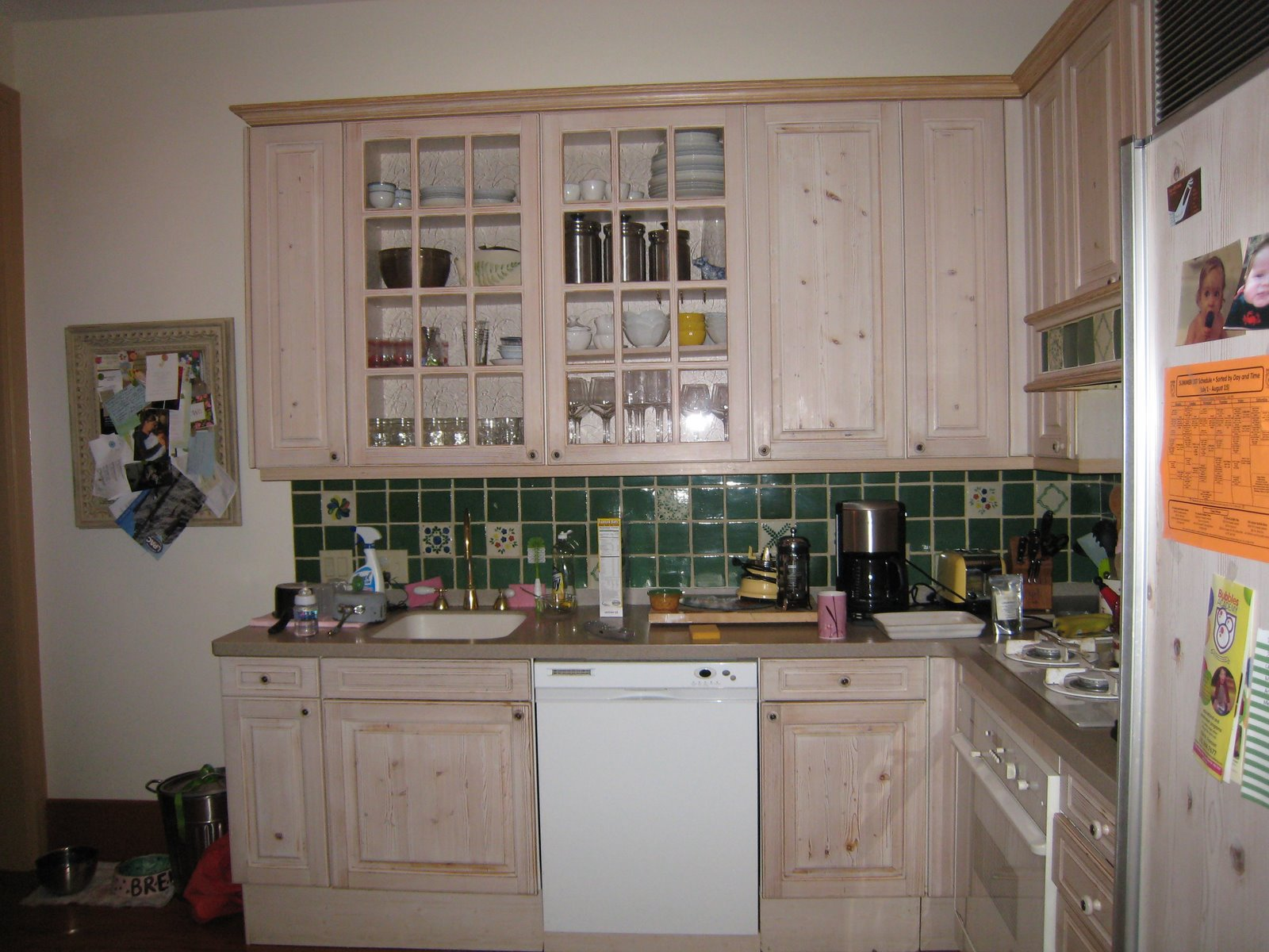"ITs Reveal Day!!! My ""New"" Kitchen.....Before and After!!!!!"