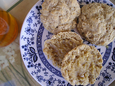 Cooked Oatmeal Scones