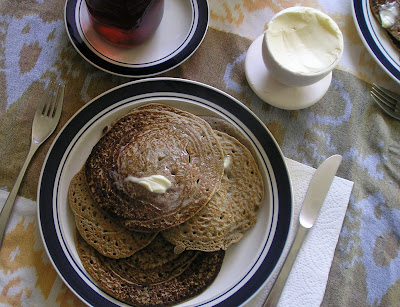 Wild Rice and Buckwheat Pancakes