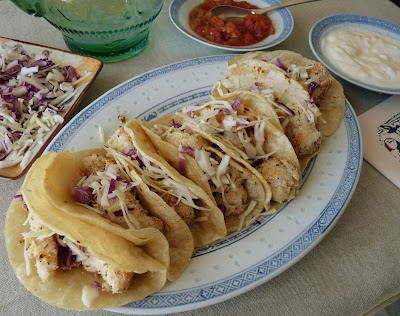 Fish Tacos with Perch