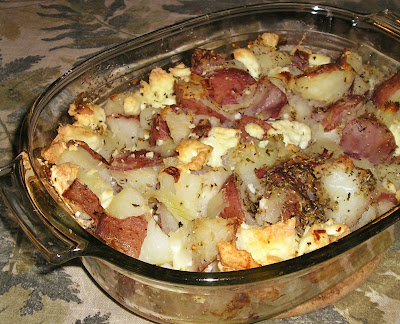 Potato and Feta Cheese Bake