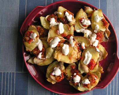 Irish or Potato Skin Nachos