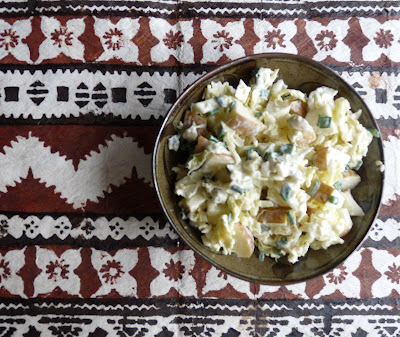 Blue Cheese and Apple Cole Slaw