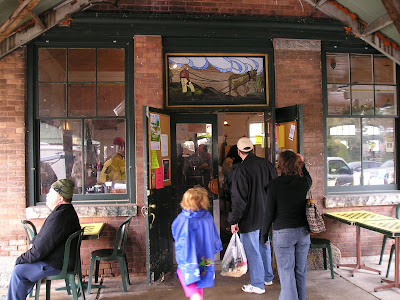 Owen Sound Farmers Market Back Door