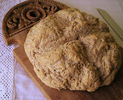Irish Soda Bread with Red Fife Wheat
