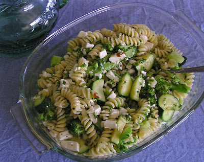Broccoli, Feta and Pasta Salad