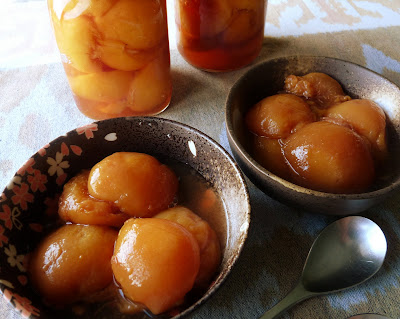 Maple Vanilla Peaches