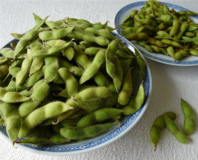 Edamame or Green Soy Beans