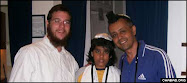 Rabbi Gavriel Holtzberg, left, was the co-director of Chabad-Lubavitch of Mumbai, India
