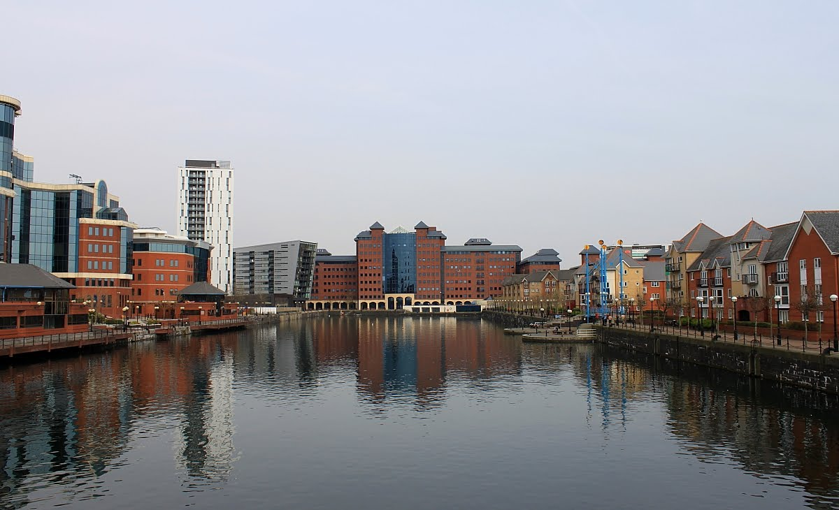 Captain Ahab's Watery Tales: Salford Quays, Manchester