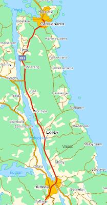 roslagsleden karta grisslehamn Vandringsman.com: Vandring Älmsta till Grisslehamn roslagsleden karta grisslehamn