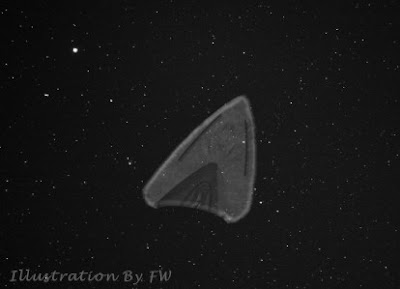 A Silent, Triangle-Shaped UFO Hovers Over Lexington Neighborhood