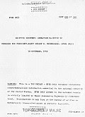 Eisenhower Briefing Document