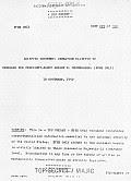 Eisenhower Briefing Document