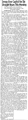 Mysterious Objects Over Washington Again Today (Body) - Lowell Sun 7-29-1952