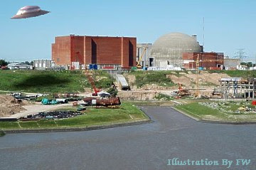 UFOs Buzz Atucha Nuclear Power Station