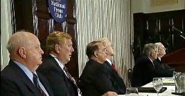 Side Shot of Panel - UFO & Nuke Press Conference 9-27-10