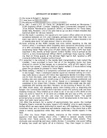 Robert C Jamison Affidavit (Pg 1)