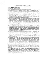 Charles I Halt Affidavit (Pg 1)