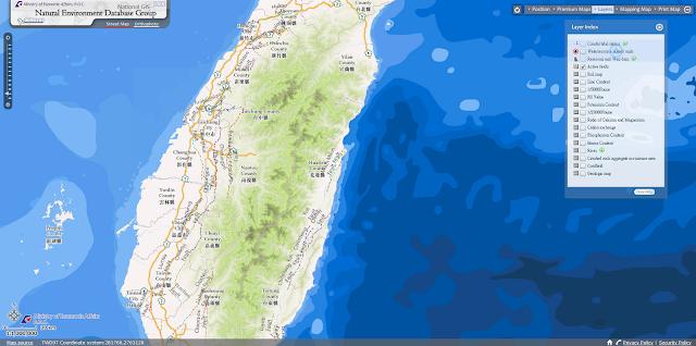 MapDreamer: 你看過臺灣的英文版本GIS系統嗎?
