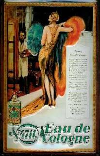 4711 Eau de Cologne antique ad