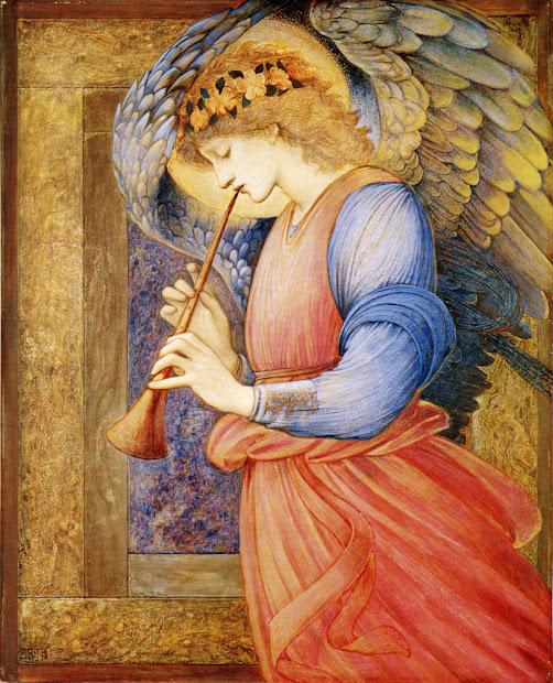 Edward Burne-Jones Angel Paintings