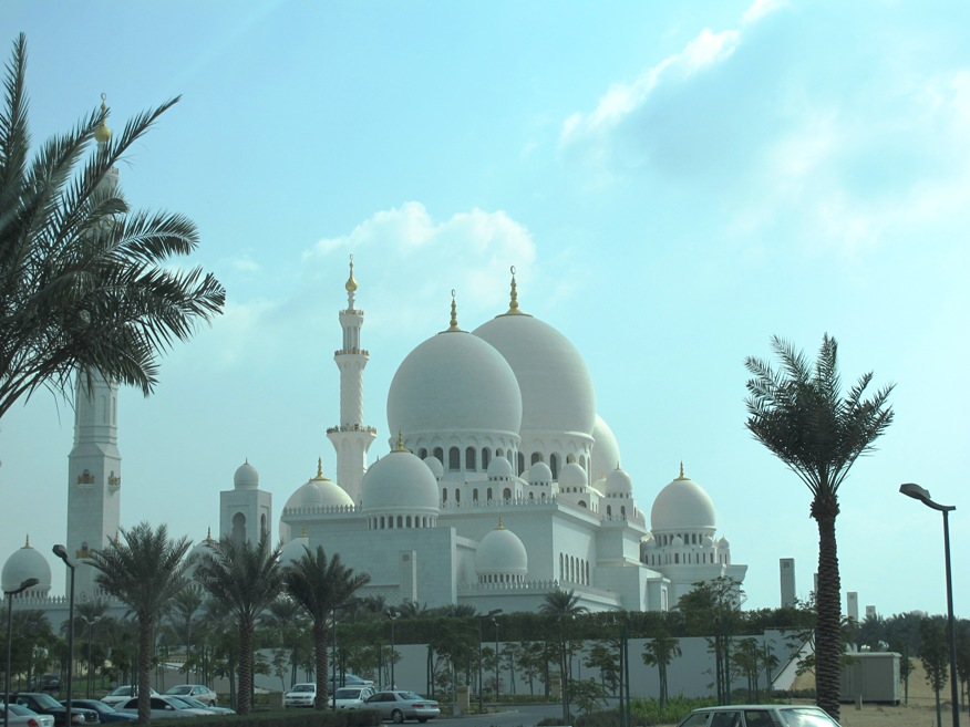 Exterior: Story Of A Trailing Spouse: Sheikh Zayed Mosque