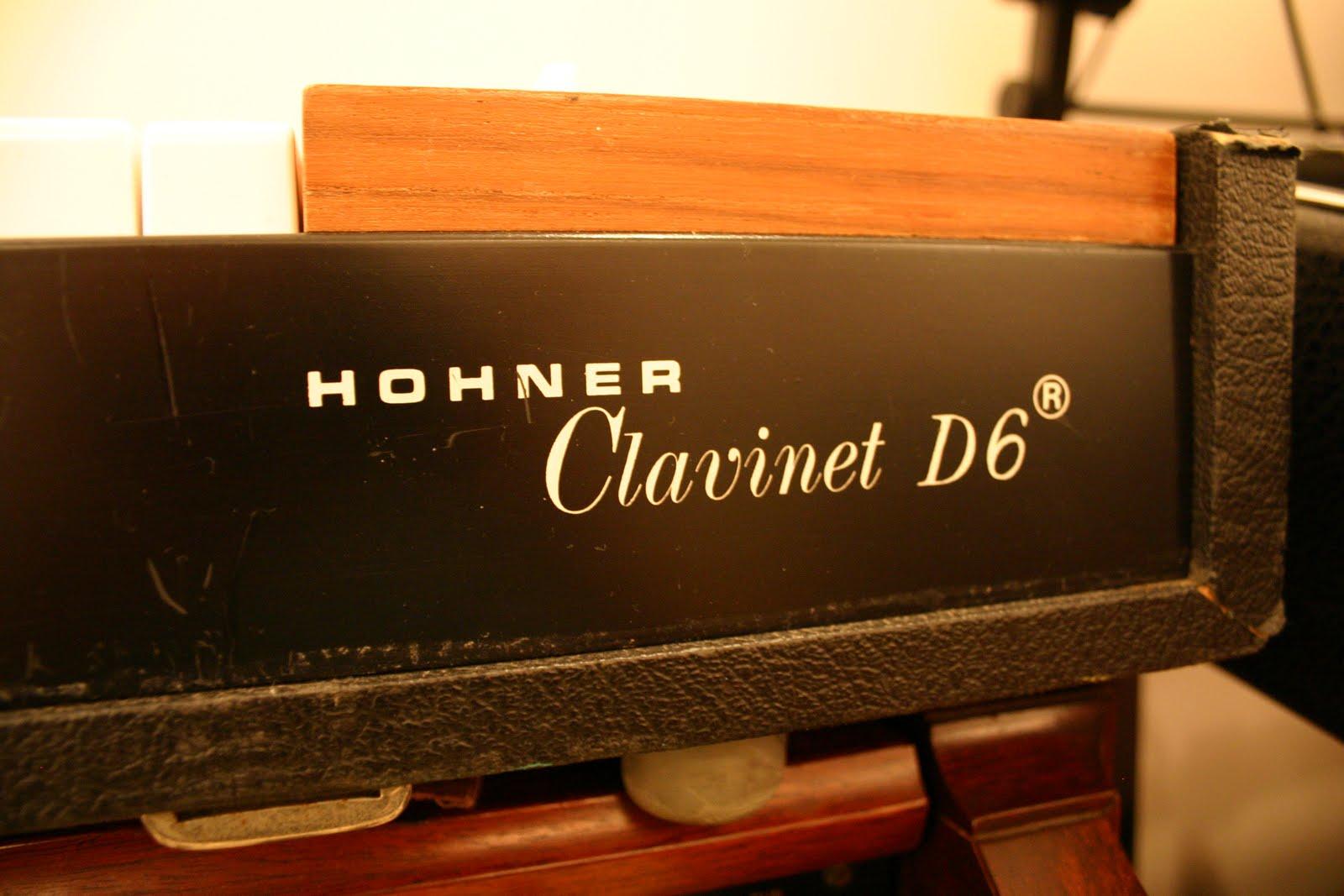 vintage keyboard studio hohner clavinet d6. Black Bedroom Furniture Sets. Home Design Ideas