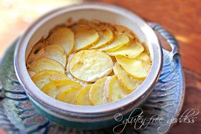 Dairy free scalloped potatoes vegan style comfort food