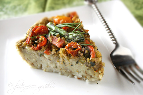 Gluten-Free Goddess Recipes: Vegan Pasta Pie with ...