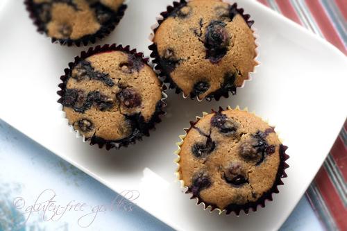 ... -Free Goddess Recipes: Gluten-Free Blueberry Muffins - Almond Flour