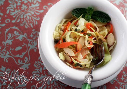 Gluten-Free Goddess Recipes: Coleslaw with Chili-Lime Dressing