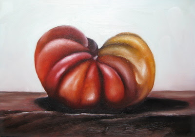 oil tomato painting