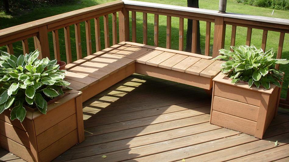 INTERIOR WALLPAPERS: Wooden Deck on Backyard Wood Deck Ideas id=76423