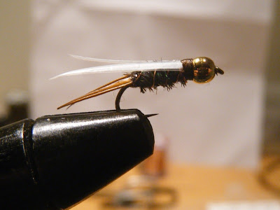 My Version of A Bead Head Prince Nymph Fly