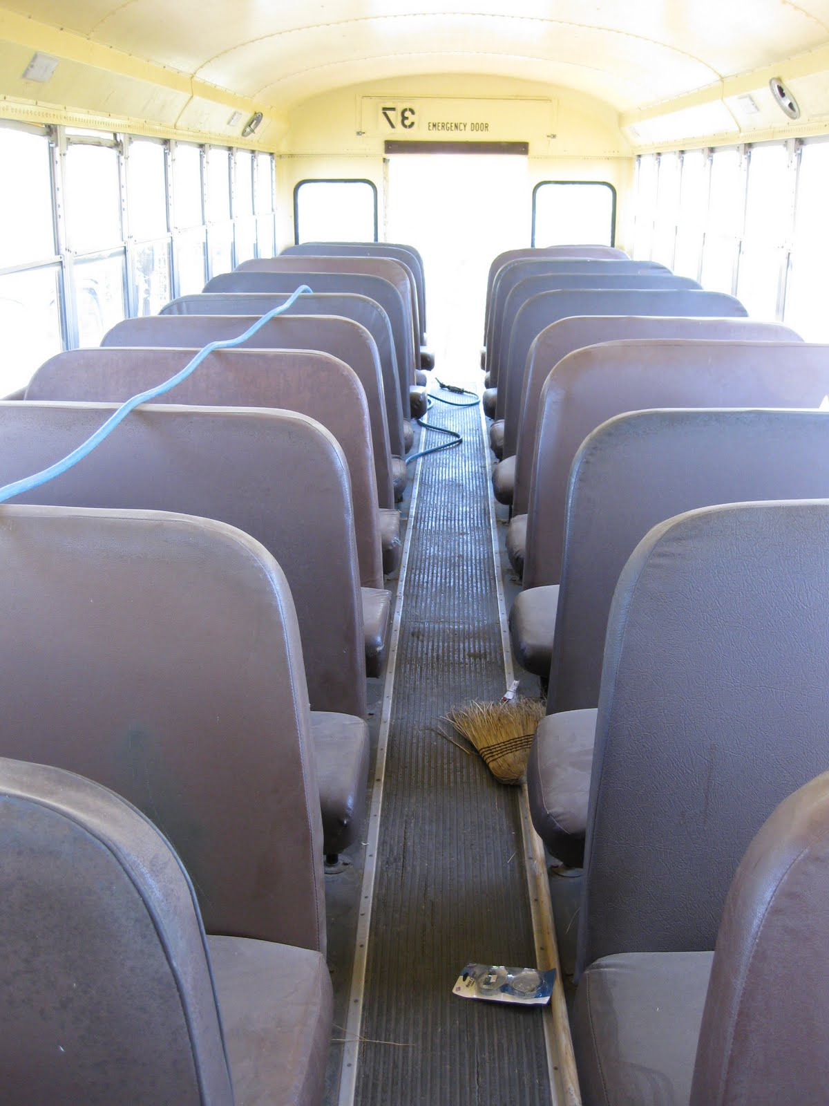 Adventures Of The Yellow School Bus Seats Be Gone