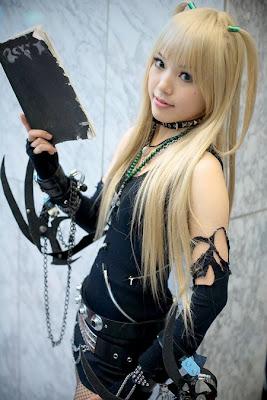 Death note misa cosplay