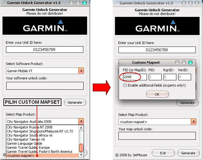 Garmin map Unlock Code Crack