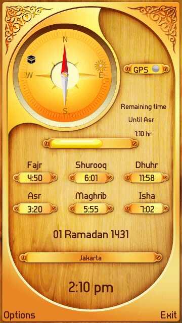 prayer times s60