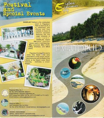 Travel Central Philippines Brochure Pagudpud Ilocos Norte