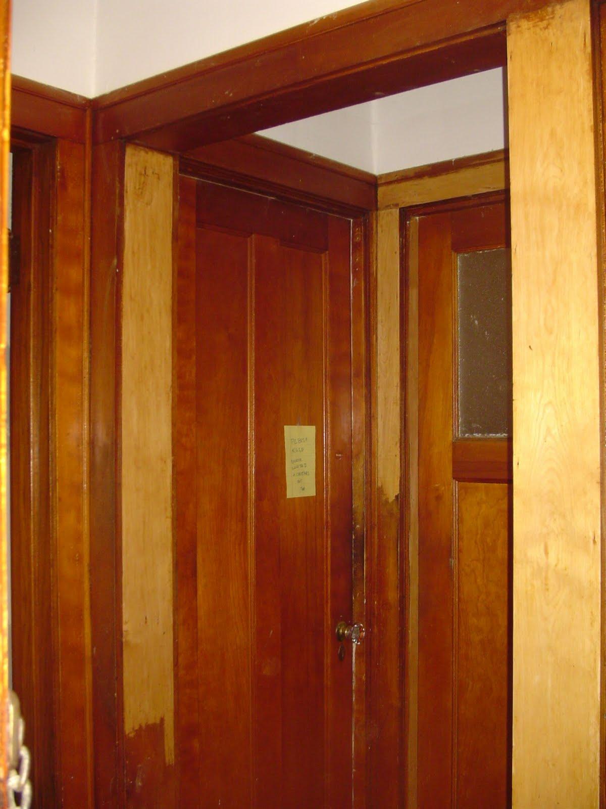 Wood Door Frame Six door frames to do,