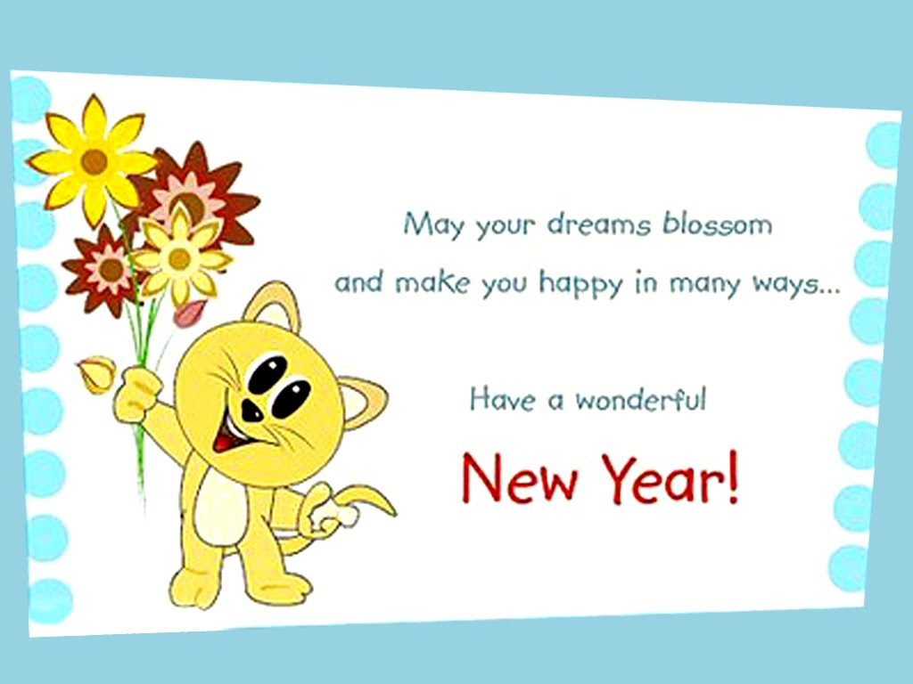 New Year Wishes New Year Greetings Wishes For New Year New Year . 1024 x 768.Happy New Year Senior Class Of  Slogans