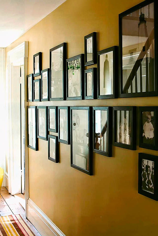 Family Photo Wall Display: Photo Wall Display Ideas & Examples